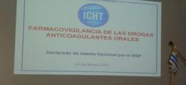 11 de Mayo – 2015. Farmacovigilancia de las drogas anticoagulantes orales.