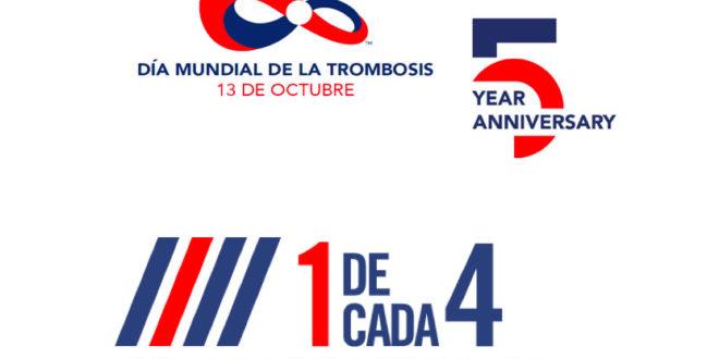 Día Mundial de la Trombosis – Octubre 2018