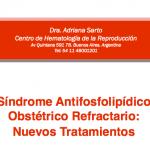 Síndrome Antifosfolipídico Obstétrico Refractario: Nuevos Tratamientos