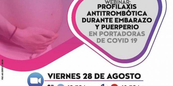 Profilaxis Antitrobombótica Durante el Embarazo y Puerperio en Portadores de Covid19 – Agosto 20