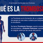 Día Mundial de la Trombosis – 13 de Octubre