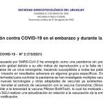 Vacunación contra COVID-19 en el embarazo y durante la lactancia